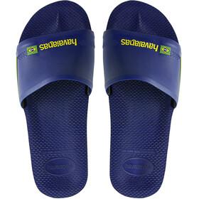 havaianas Brasil - Zapatillas de estar por casa - azul